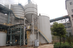 Baosteel stainless steel branch flue gas desulfurization project desulfurization tower