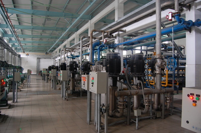 2#Chemical water station renovation project300m?hComplete equipment for desalting water expansion