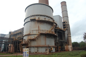 Baosteel branch three - sintered electric dust addition desulfurization disposal facilities project